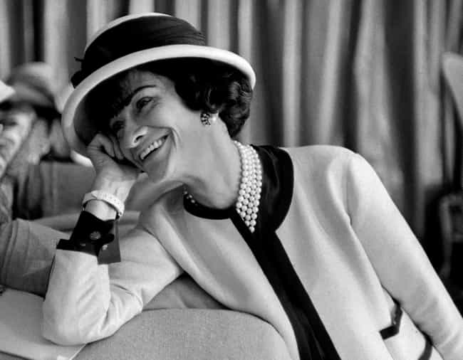 Coco Chanel is listed (or ranked) 4 on the list The Top Celebrity Fashion Icons of All Time