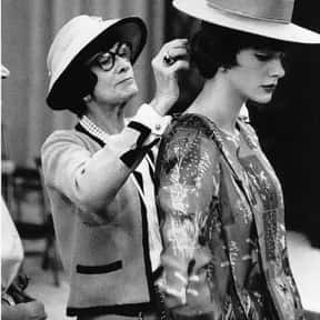 Coco Chanel is listed (or ranked) 1 on the list The Most Influential Fashion Designers Of All Time
