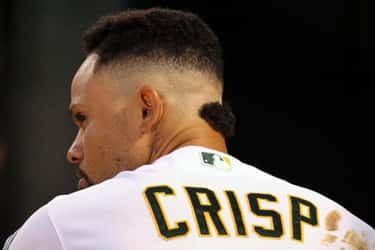 Coco Crisp is listed (or ranked) 1 on the list The Worst Hairstyles in MLB History