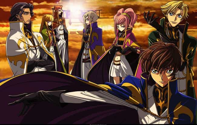 Code Geass is listed (or ranked) 3 on the list The 24 Best Anime That Isn't Based On A Manga Series