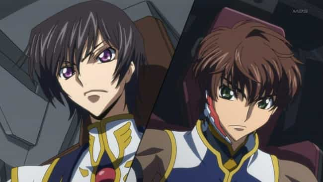 Code Geass is listed (or ranked) 4 on the list The Best 'Cat & Mouse' Anime About Battling Minds