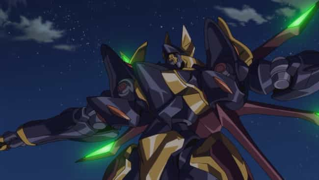 Code Geass is listed (or ranked) 4 on the list The Best Mecha In Anime