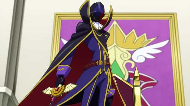 Code Geass is listed (or ranked) 4 on the list 15 Anime Where Characters Want To Take Over The World