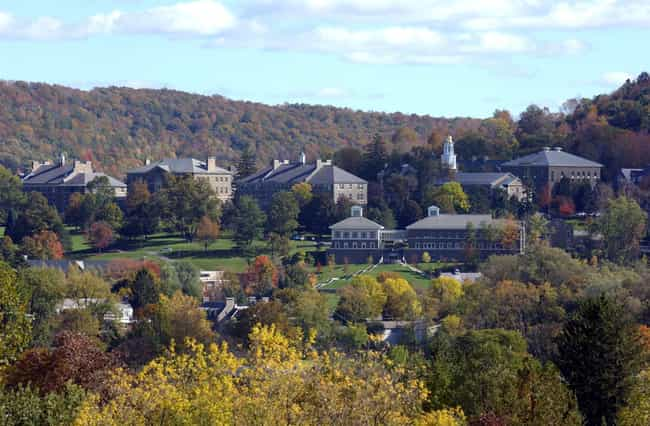 Colgate University is listed (or ranked) 8 on the list The Most Beautiful College Campuses