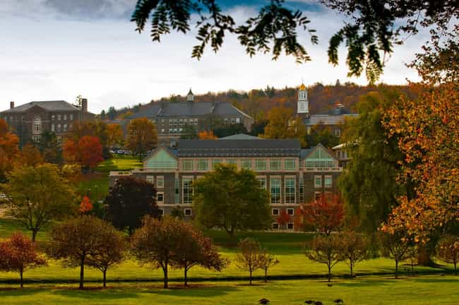 Colgate University is listed (or ranked) 1 on the list Princeton Review's List: The Most Beautiful Campuses 2014-15