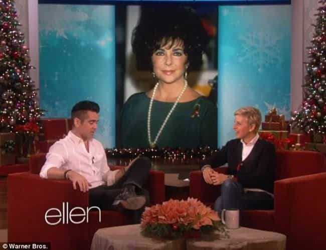 Colin Farrell is listed (or ranked) 2 on the list Elizabeth Taylor's Husbands, Boyfriends And Hookups