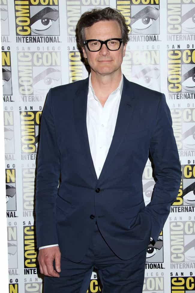 Colin Firth is listed (or ranked) 1 on the list The Best Dressed Male Celebrities