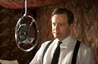 Colin Firth As King George VI