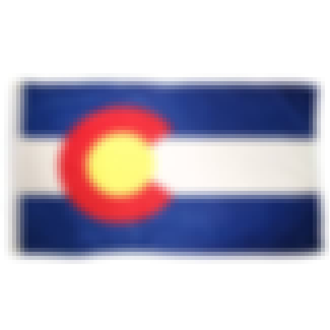 Colorado is listed (or ranked) 7 on the list The Best US State Flag