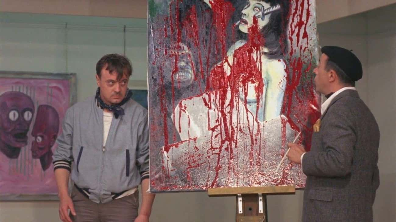 Color Me Blood Red is listed (or ranked) 1 on the list Horror Movies About Artists And The Art World