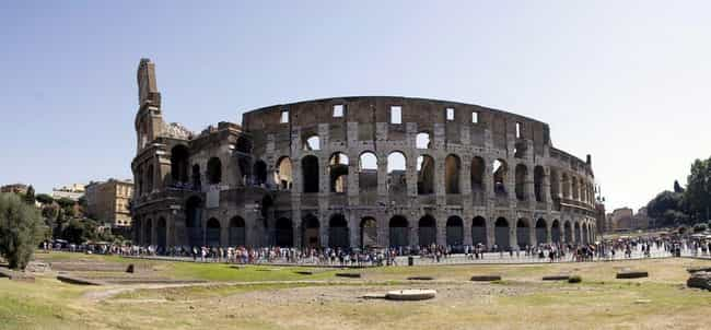 Colosseum is listed (or ranked) 3 on the list The Most Beautiful Places in Europe