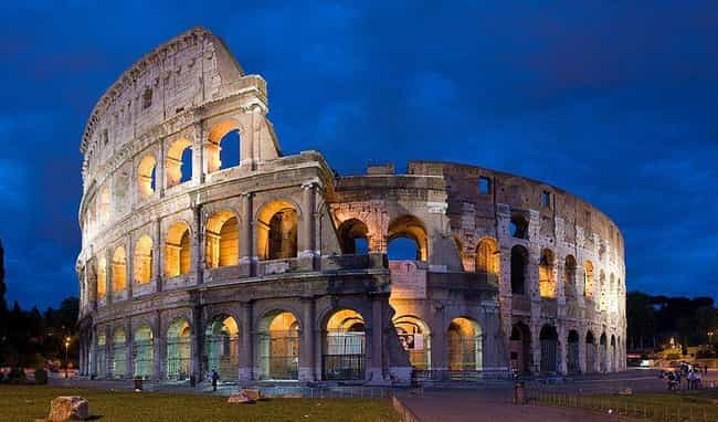 Colosseum is listed (or ranked) 4 on the list The Most Beautiful Places in Europe