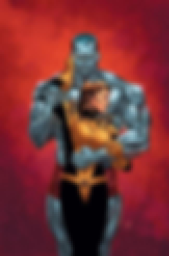 Colossus is listed (or ranked) 8 on the list The 12 Most Indestructible Comic Book Characters