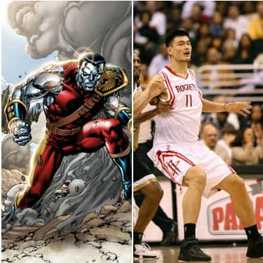 "Colossus And Yao Ming Are Both 7'5"", But One Is A Lot Bulkier"