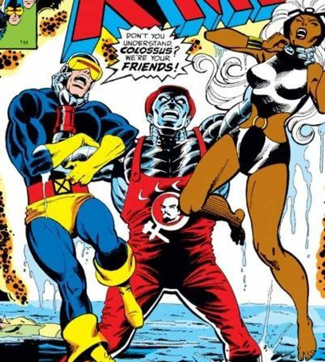 Colossus is listed (or ranked) 4 on the list The Most Egregious Alternate Costumes In Comic Book History