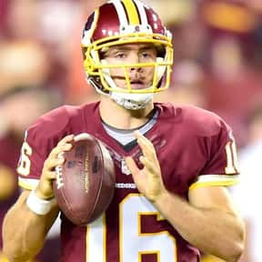 Colt McCoy is listed (or ranked) 17 on the list The Best Washington Redskins Quarterbacks of All Time