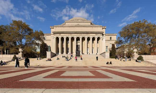Columbia University is listed (or ranked) 4 on the list All Ivy League Colleges Ranked