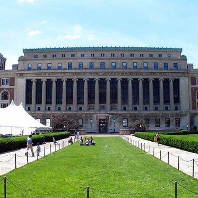 Columbia University is listed (or ranked) 2 on the list All Ivy League Schools