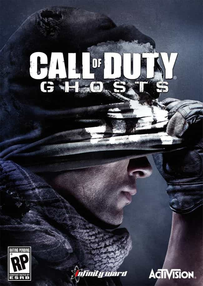 Call of Duty: Ghosts is listed (or ranked) 4 on the list What The Year 2020 Should Look Like, According To Science Fiction