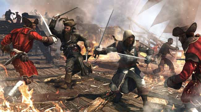 Assassin's Creed IV: Black Fla... is listed (or ranked) 3 on the list 19 PS4 Games That Are Pretty Good, Not Great, But Pretty Good