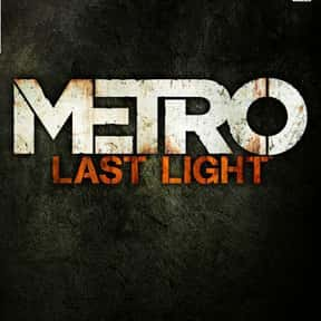 Metro: Last Light is listed (or ranked) 11 on the list The Best Xbox One Horror Games