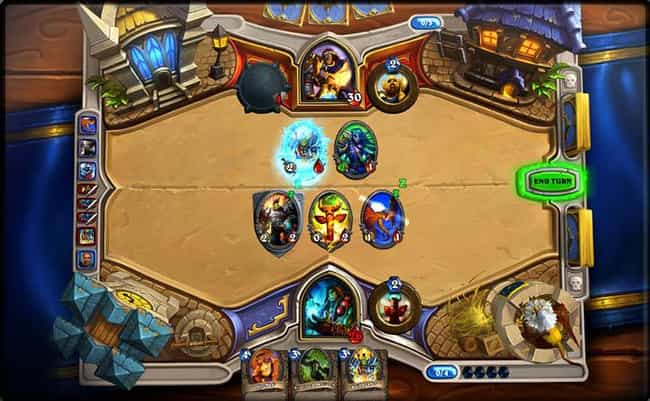 Hearthstone: Heroes of W... is listed (or ranked) 1 on the list The Best Mobile Card Games
