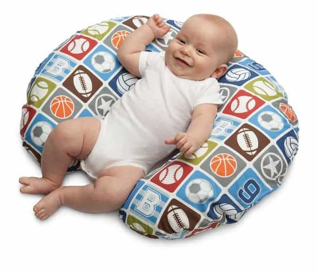 Boppy Nursing Pillow is listed (or ranked) 3 on the list The Best Baby Products That Are Totally Worth It