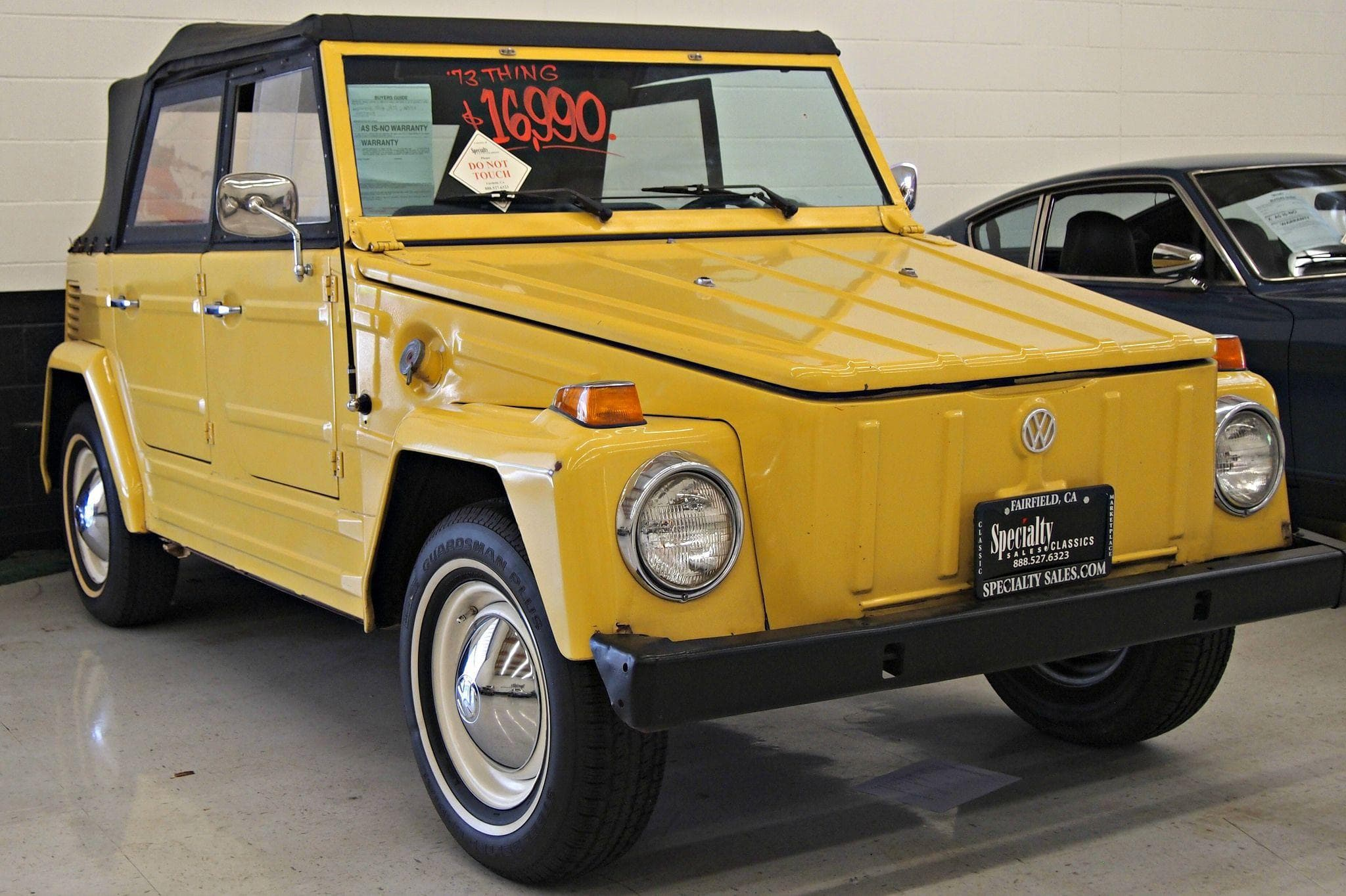 Volkswagen Thing on Random Ugliest Cars In The World