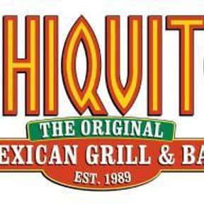 Chiquito is listed (or ranked) 14 on the list The Best Restaurant Chains of the UK