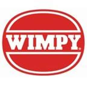 Wimpy is listed (or ranked) 23 on the list The Best Restaurant Chains of the UK
