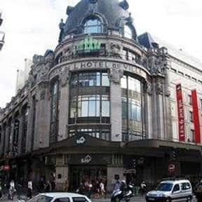 Bazar de l'Hôtel de Ville is listed (or ranked) 5 on the list The Best French Department Stores