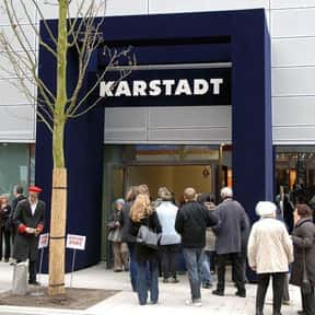 Karstadt is listed (or ranked) 1 on the list The Best German Department Stores
