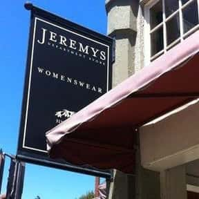Jeremys is listed (or ranked) 18 on the list The Best American Department Stores