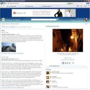Windows Live Spaces is listed (or ranked) 9 on the list Dead Social Media Platforms You Wish Were Still Around