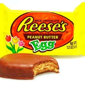 Reese's Peanut Butter Eggs is listed (or ranked) 1 on the list The Best Easter Candy of All Time
