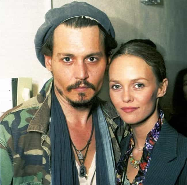 Vanessa Paradis and Johnny Dep... is listed (or ranked) 2 on the list Lamest Celebrity Hipster Couples