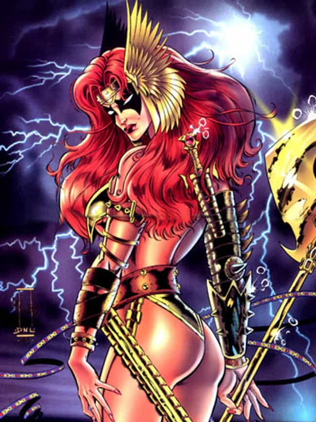 sexiest female comic book characters list of the hottest women in