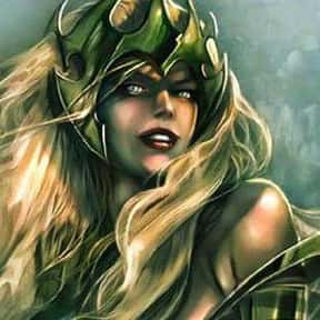 Amora is listed (or ranked) 8 on the list The Best Thor Villains, Foes, and Enemies of All Time