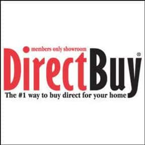 DirectBuy is listed (or ranked) 8 on the list The Best Appliance Shopping Websites