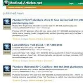 medical-articles.net is listed (or ranked) 18 on the list The Best Medical News Sites