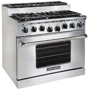 American Range is listed (or ranked) 24 on the list The Best Large Kitchen Appliance Brands
