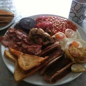 Full English Breakfast is listed (or ranked) 6 on the list The Best Food For A Hangover