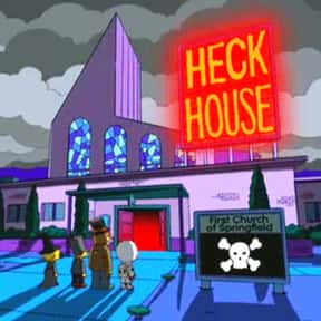 Heck House is listed (or ranked) 25 on the list The Best Of The Treehouse Of Horror