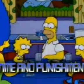 Time and Punishment is listed (or ranked) 5 on the list The Best Of The Treehouse Of Horror