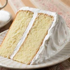 White Cake is listed (or ranked) 10 on the list Every Single Type of Cake, Ranked by Deliciousness