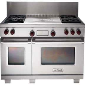 Wolf Appliance is listed (or ranked) 11 on the list The Best Large Kitchen Appliance Brands