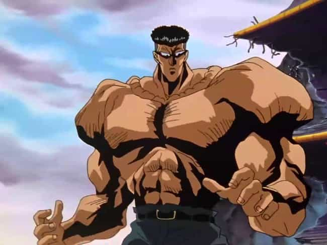 Toguro is listed (or ranked) 1 on the list The 14 Most Underrated Anime Villains Who Don't Get Enough Credit