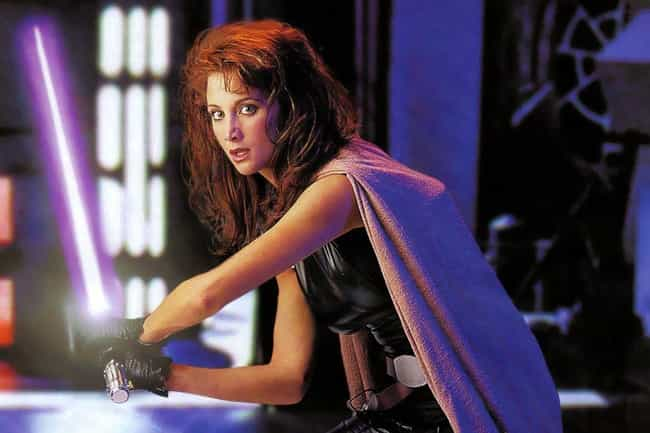 Mara Jade Skywalker is listed (or ranked) 4 on the list 20 Characters In The Star Wars EU Way Cooler Than Han Solo