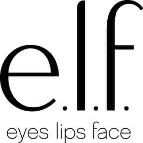 e.l.f cosmetics is listed (or ranked) 14 on the list The Best Cosmetic Brands