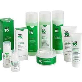 Yes To is listed (or ranked) 1 on the list The Best Natural Skin Care Brands